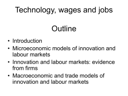 Chapter 10: Technology Wages & Jobs