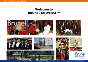 Brunel Research Intro - Brunel University London