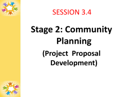 Project Proposal Development