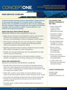 fund services overview