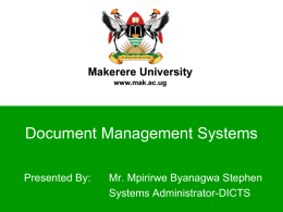 docs_intro - Makerere University