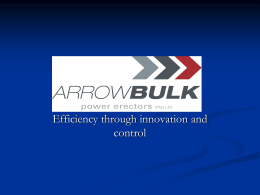 Transformer Erection - Arrow Bulk Logistics