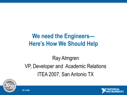 Almgren - International Technology and Engineering Educators