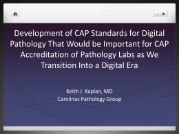 View PPT slides - Digital Pathology Association