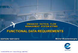 ETFMS Data Collection System - Technical requirements