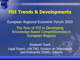 unctad/cd-tft - Knowledge Economy Network