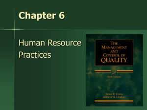 Human Resource Practices