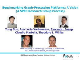 Towards Benchmarking Graph-Processing Platforms