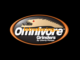 Omnivore Presentation - Field`s Engineering Consultant Services, LLC