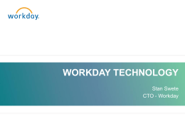 Workday -August