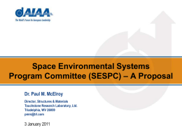 Space Environmental Systems PC