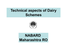 "Webinar on ""Dairy Project Finance"" on December 17, 2013"