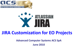 JIRA - Acsys.it