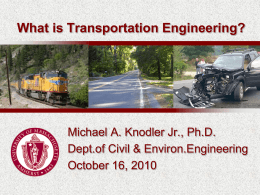 Michael A. Knodler Jr., Ph.D.
