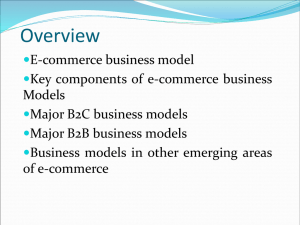 E-commerce and Organizations