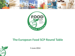 here - European Food SCP Roundtable