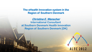 eHealth and Innovation