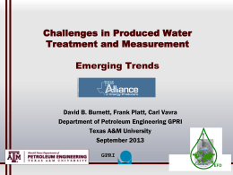 Emerging Trend - Texas Alliance