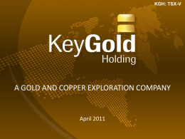 Key Gold One2One Investors Presentation