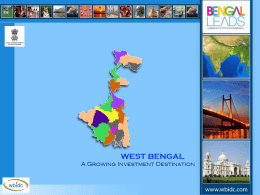 WB and WBIDC - Bengal Chamber of Commerce and Industry