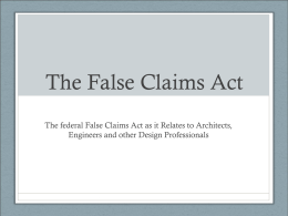 The False Claims Act - Whistleblower Attorneys – Patten, Wornom
