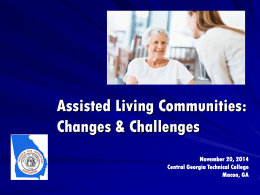 Assisted Living/Personal Care-Allen LaBerteaux