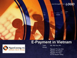 E-Payment in Vietnam