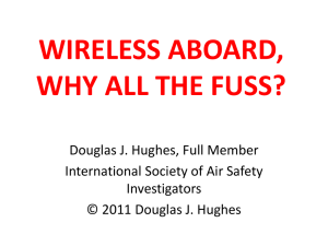 WIRELESS ABOARD, WHY ALL THE FUSS?