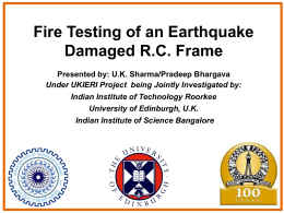 Dr. Umesh K Sharma - Indian Institute of Science