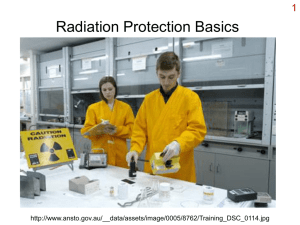 Radiation Protection Basics