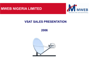 1- VSAT Installation Satellite pointing
