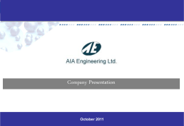 Industry - AIA Engineering/Vega Industries