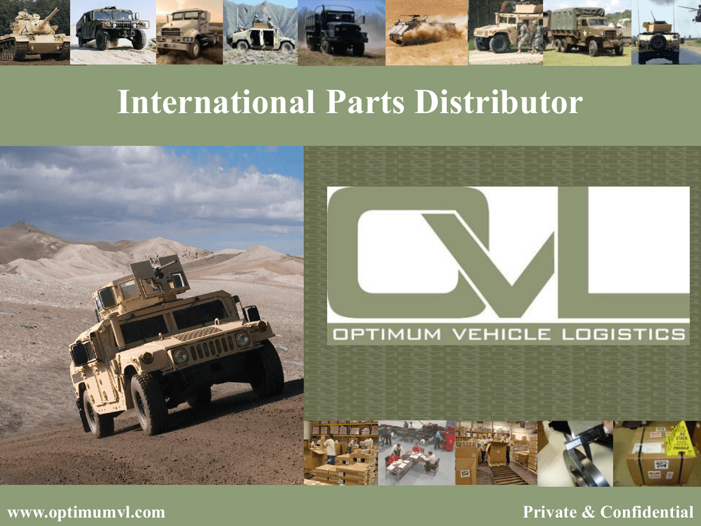 Company Presentation - Optimum Vehicle Logistics