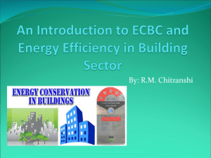 An Introduction to ECBC