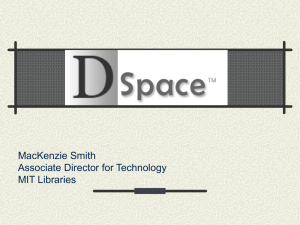 DSpace Introduction