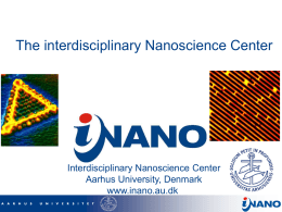 The interdisciplinary Nanoscience Center