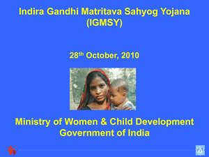 3.igmsy - Ministry of Women and Child Development