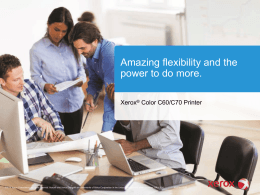 Productivity, scalability and professional image quality, all-in