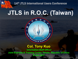 14th JTLS International Users Conference