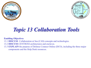 Topic 13 Collaboration Tools inst 30 Mar 10 Core rev 03