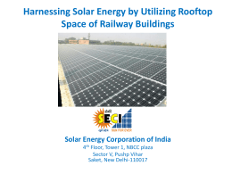 Roof top Solar PV Systems