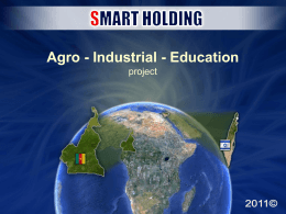 Agro - Industrial - Education