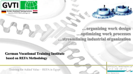 What is the REFA Methodology?
