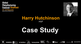 Harry Hutchinson HGF Case Study
