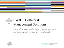Transforming Collateral Management