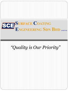 Contact - surface coating sce engineering sdn bhd
