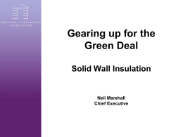 Solid Wall Insulation Guarantee Agency
