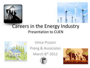 Careers in the Energy Industry