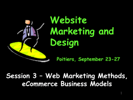 Website Marketing - Tom Leuchtner Homepage