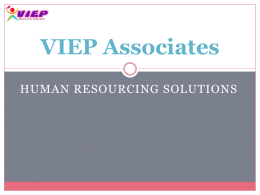 VIEP Associates Introduction